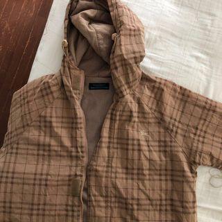 [Good Price] Burberry Blue Label Vintage Hooded Jacket