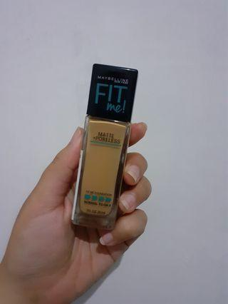 [PRELOVED] Maybelline Fit Me Matte Poreless 228 Soft Tan