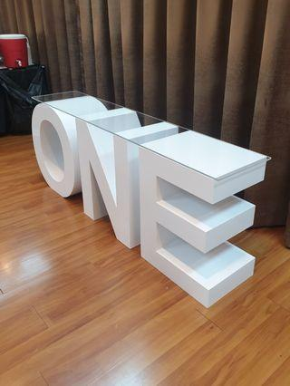 LIFE SIZE MARQUEE LETTERS & LIGHTS FOR EVENTS (RENT)