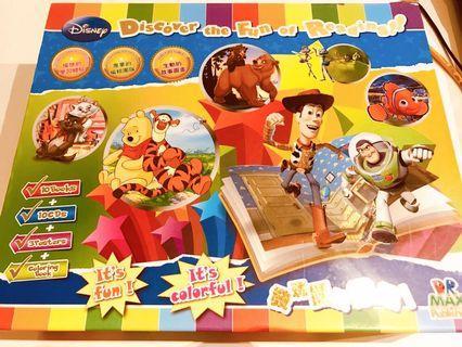 Disney Children Set of 10 books and CDs