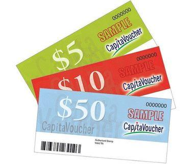 🚚 GOOD PRICE FOR CAPITALAND VOUCHER
