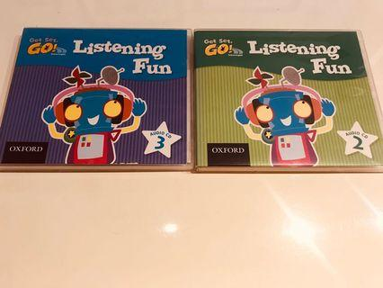 Oxford English Get Set Go Listening Fun CD 2 and 3