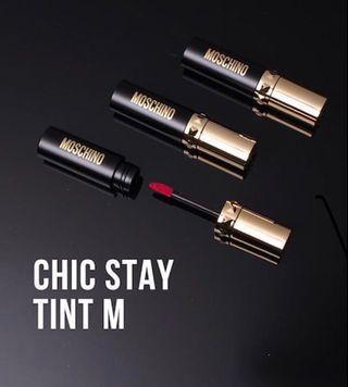 Moschino x Tony Moly Matte & Moisturing Lip Tint