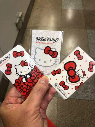 Hello Kitty Ezlink card #AmplifyJuly35 #MrtRaffles