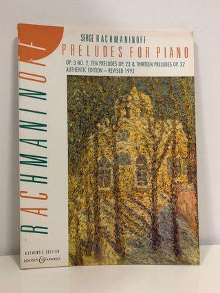 Rachmaninoff: Preludes for Piano