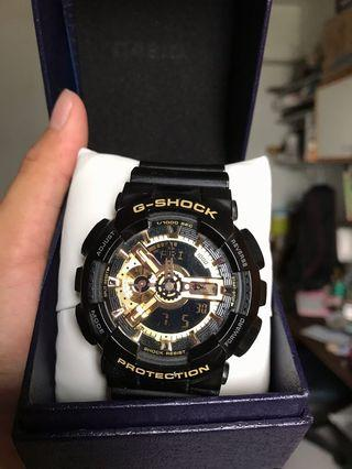 G-shock GA-110GB-1ATF 黑金