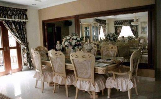 Living room set, dining room set & master bedroom set