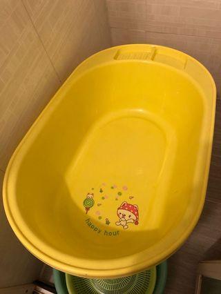 BB浴盆 沖涼盤