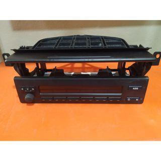 Radio Display Module Control Unit Panel & Casing BMW E39