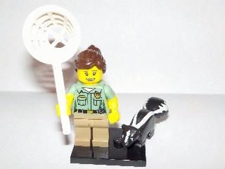 🚚 Lego Series 15 Animal Control Minifigure