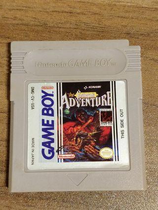 Castlevania: The Adventure 🇺🇲 GameBoy