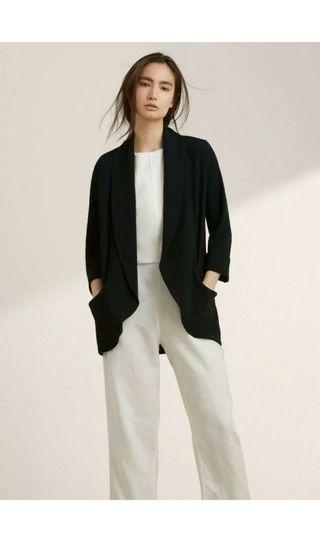 Wilfred Chevalier Black Jacket Size 0