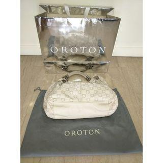 Oroton Full Leather Handbag (New from Australia)