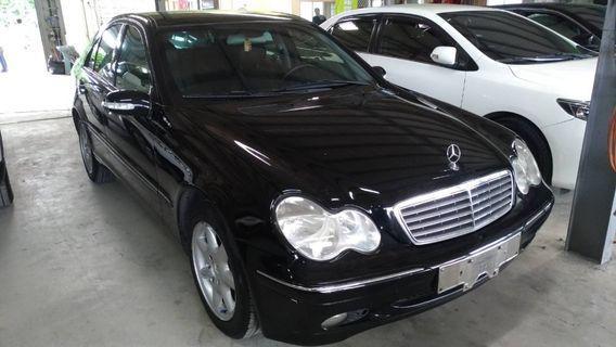 自售 賓士 2003 BENZ W203 C240 (可全貸)