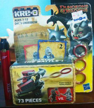 KRE-O Dungeons & Dragons Master The Battle! ORC'S CROSSBOW 73 Pieces's