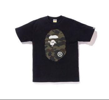 Bape reflector 1st camo big ape head tee