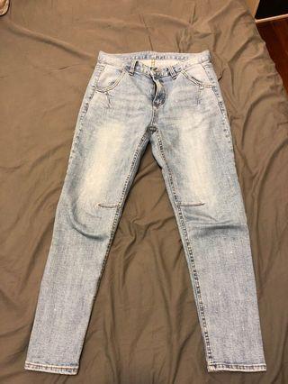 顯瘦 牛仔褲