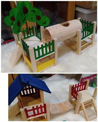 Hamster playground.