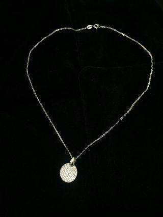 韓國精品鑲鑽項鍊