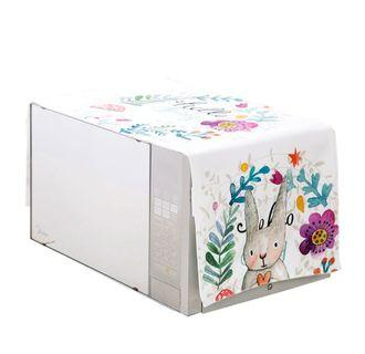 Plush Microwave Oven Cover