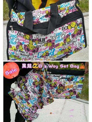 Hysteric mini 黑超b Porter 海棉布料 旅行袋 bag