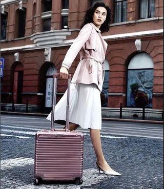 Rosegold Luggage