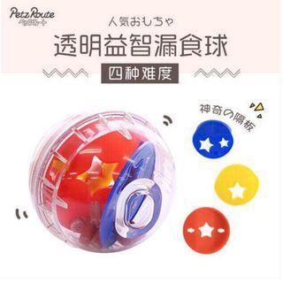 【新款現貨】日本派滋露 PETZ ROUTE 益智漏食球 犬貓益智玩具 增加運動量