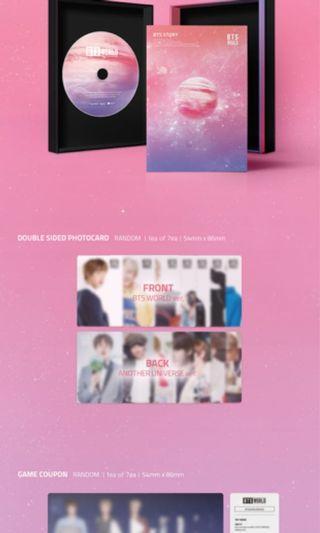 BTS World Album (Sealed + Poster)