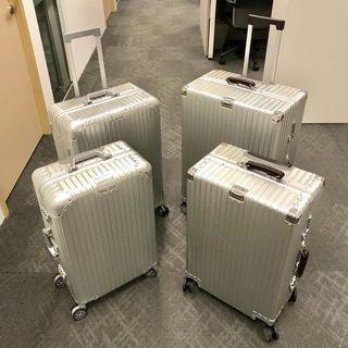 "High Grade Aluminium Luggage Bag, Metal Luggage, 20"" 26"" 29"" Luggage From $239"