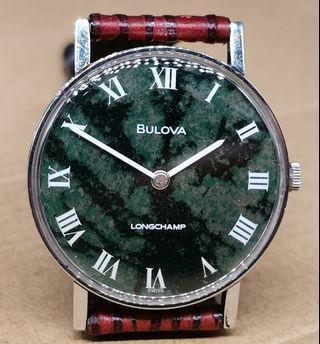 Bulova Longchamp 手上弦手錶