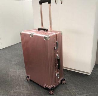 """Rosegold Luggage, 20"""" 26"""" 29"""" Luggage, Aluminium Luggage, 26"""" Luggage, Rosegold"""