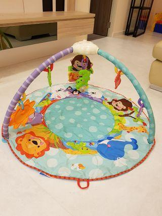 Fisher price animal activity floor mat