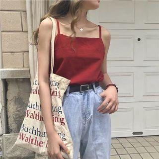 maroon camisole