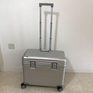 "Silver Luggage, Full Aluminium Luggage, Metal Luggage, 20"" 22"" 24"" Luggage, Cabin Size Luggage"