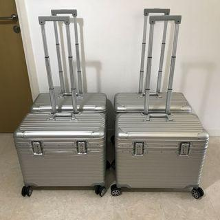"""Aluminium Luggage 20"""" 22"""""""
