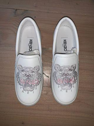 Kenzo white sneakers