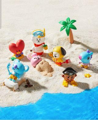 BT21 Collectible Figure Blind Pack Vol .2 (Summer Vacation Theme)