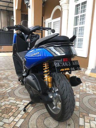 Jual motor N Max 155 cc warna biru Tahun 2017