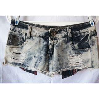 Denim low waist jeans