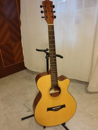 Preloved Acoustic Guitar with bag