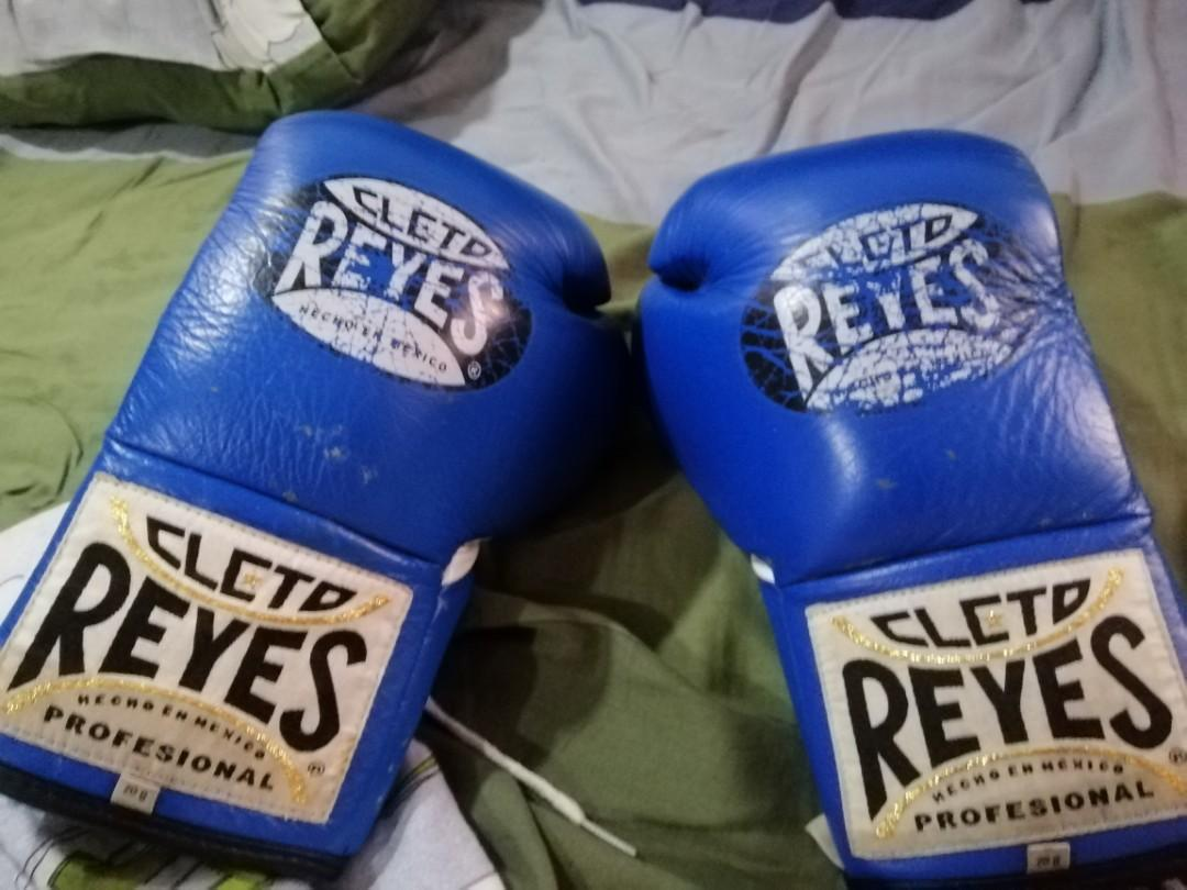 8oz Cleto Reyes Boxing Gloves (used) on Carousell