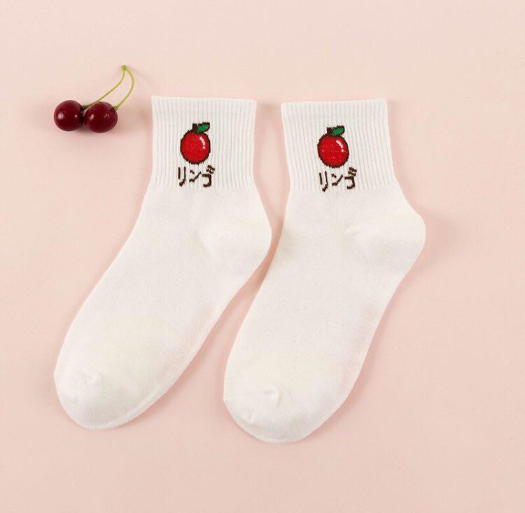 水果襪 中筒襪 襪子