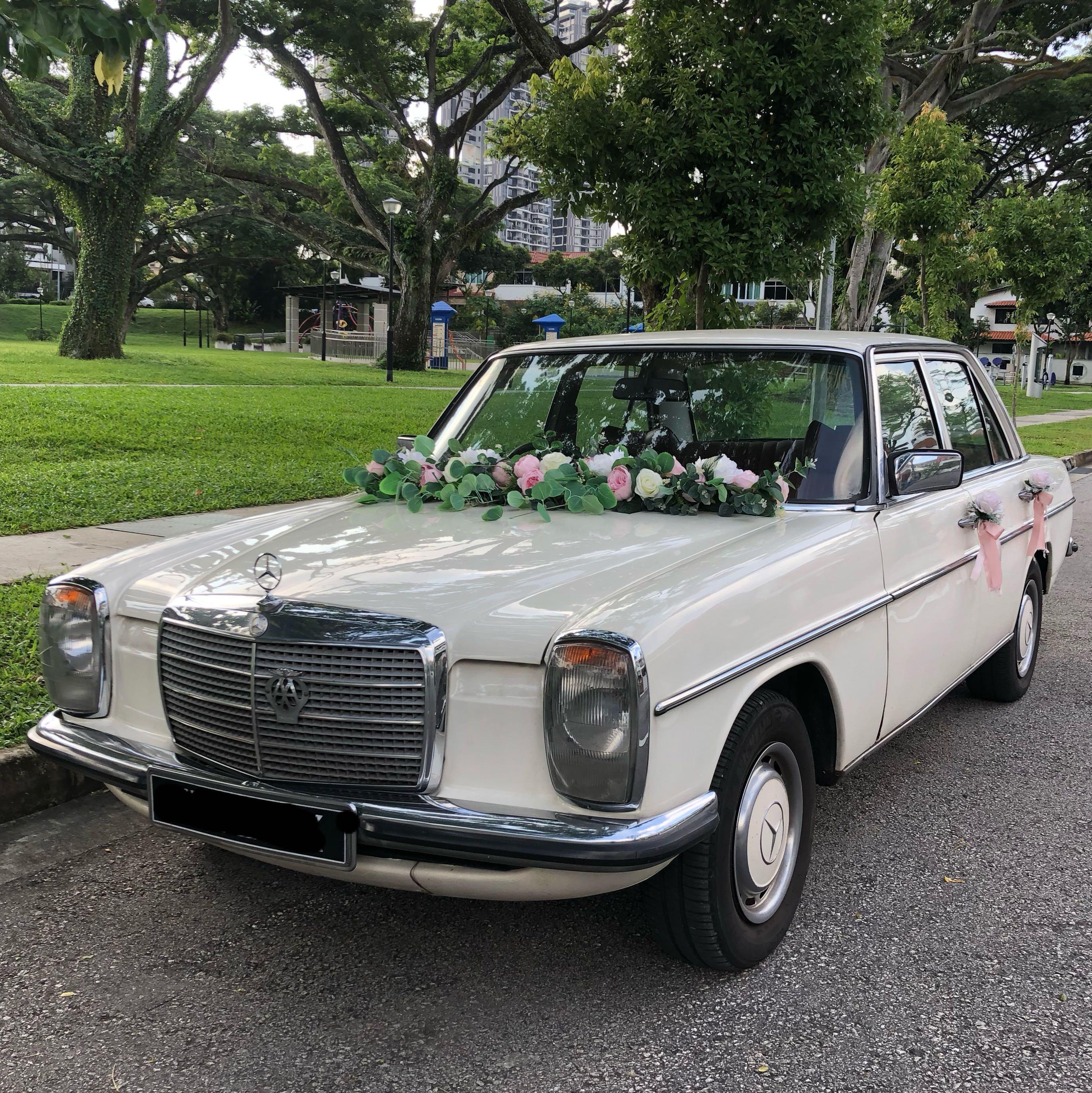 ❤️ Classic Mercedes 200 for your Special Occasion.