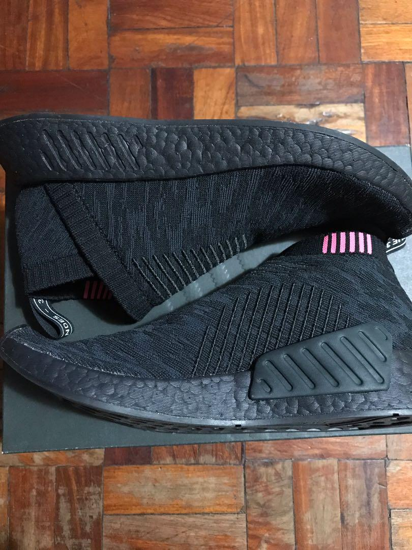 buy popular 765af bd4d4 Adidas NMD City Sock 2 Prime Knit Triple Black Size 8 US ...