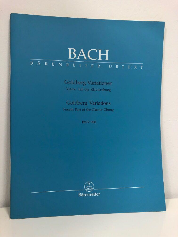 Bach: Goldberg Variations (Bärenreiter urtext)