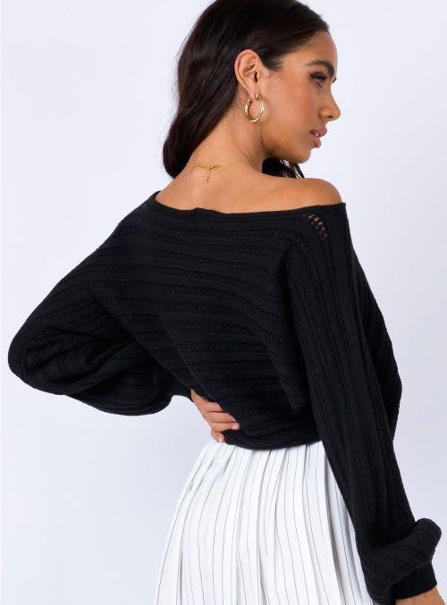 black princess polly knit.