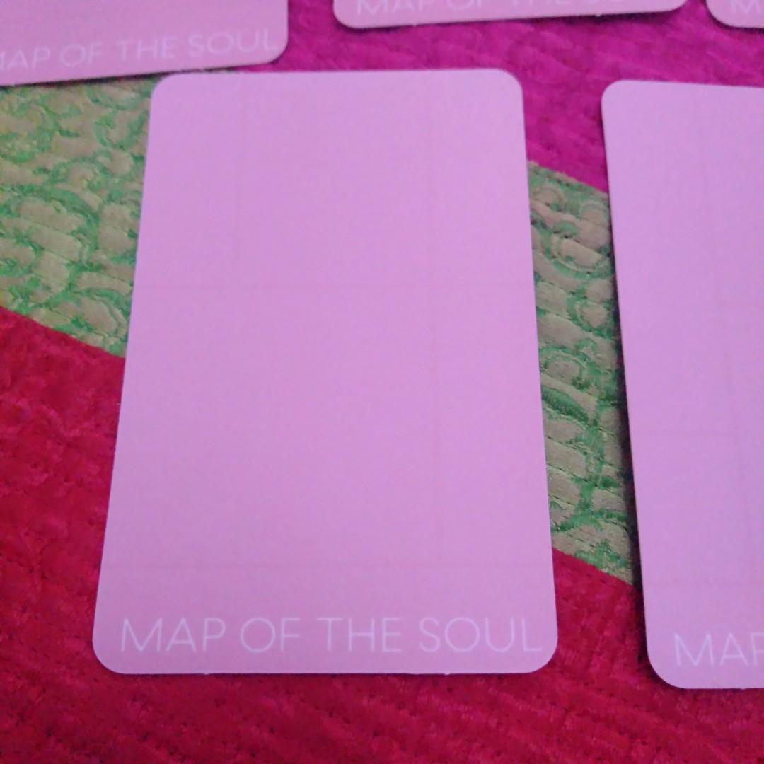 BTS Map of The Soul: Persona Unofficial Photocard Ver 1. Double Sided