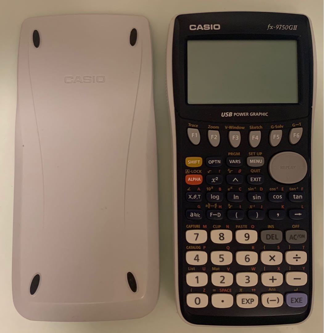 Casio Graphing Calculator fx-9750GII