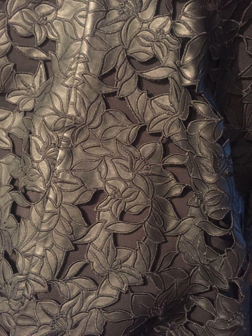 Club Monaco Faux Leather Skirt - Size 8