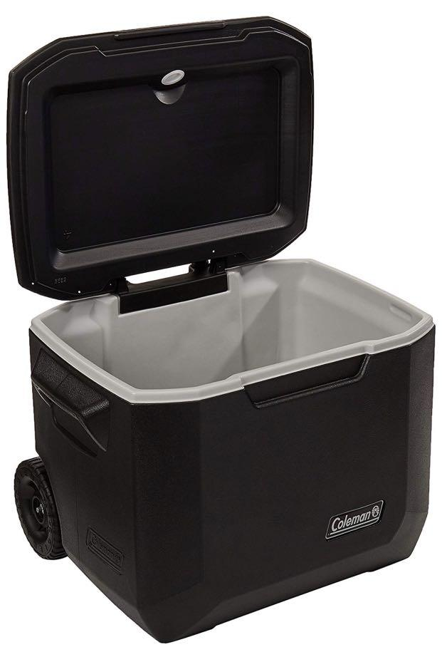 Ready stock. Coleman Xtreme Series Wheeled Cooler, 50 Quart